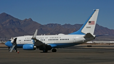 Photo ID 237247 by Jesus Cervantes. USA Air Force Boeing C 40C 737 7CP BBJ, 01 0040
