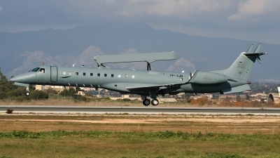 Photo ID 237277 by Sybille Petersen. Greece Air Force Embraer EMB 145H AEW C, PP XJR