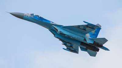 Photo ID 237297 by Alfonso Madico. Ukraine Air Force Sukhoi Su 27S, 39 BLUE