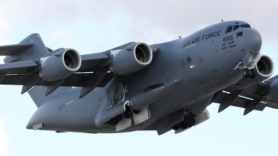 Photo ID 26812 by Simon Gregory - AirTeamImages. USA Air Force Boeing C 17A Globemaster III, 06 6155