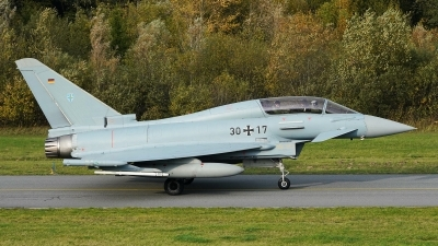 Photo ID 237383 by Dieter Linemann. Germany Air Force Eurofighter EF 2000 Typhoon T, 30 17