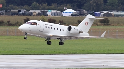 Photo ID 237434 by Milos Ruza. Switzerland Air Force Canadair CL 600 2B16 Challenger 604, T 751