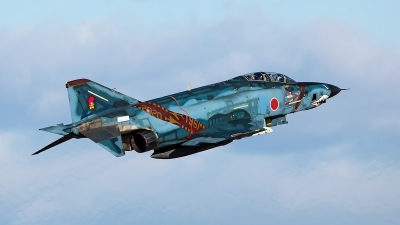 Photo ID 237430 by Robin Coenders / VORTEX-images. Japan Air Force McDonnell Douglas RF 4E Phantom II, 47 6901