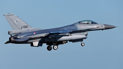 Photo ID 237530 by Rainer Mueller. Netherlands Air Force General Dynamics F 16AM Fighting Falcon, J 061