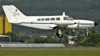Photo ID 237607 by Aldo Bidini. Malaysia Air Force Cessna 402B, M27 05