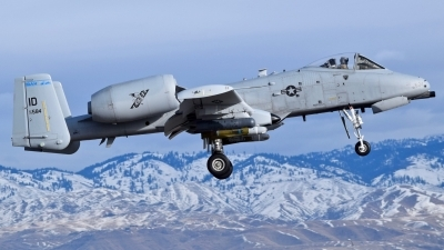 Photo ID 237701 by Gerald Howard. USA Air Force Fairchild A 10C Thunderbolt II, 78 0584