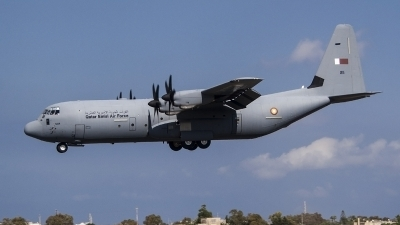 Photo ID 237763 by Ray Biagio Pace. Qatar Emiri Air Force Lockheed Martin C 130J 30 Hercules L 382, 211