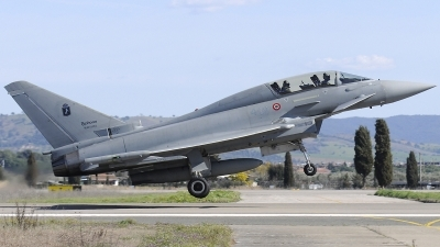 Photo ID 237725 by Aldo Bidini. Italy Air Force Eurofighter TF 2000A Typhoon EF 2000T, MM55093