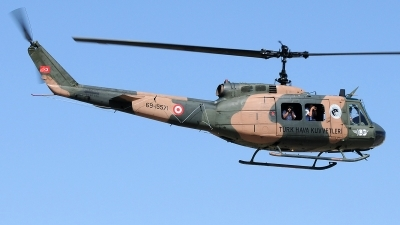 Photo ID 237768 by Aldo Bidini. Turkey Air Force Bell UH 1H Iroquois 205, 69 15571