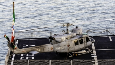 Photo ID 237797 by Redeemer Saliba. Italy Navy Agusta Bell AB 212ASW, MM81086