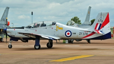 Photo ID 237881 by Aldo Bidini. UK Air Force Short Tucano T1, ZF378