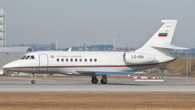 Photo ID 237913 by Patrick Weis. Bulgaria Government Dassault Falcon 2000, LZ OOI