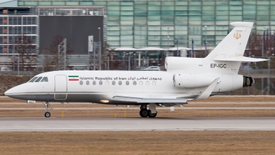 Photo ID 237928 by Patrick Weis. Iran Government Dassault Falcon 900EX, EP IGC