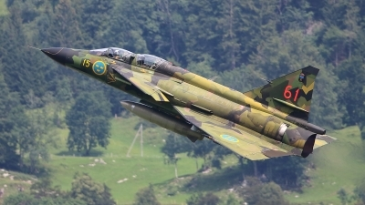 Photo ID 237966 by Ludwig Isch. Private Swedish Air Force Historic Flight Saab Sk37E Viggen, SE DXO