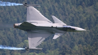 Photo ID 237965 by Ludwig Isch. Sweden Air Force Saab JAS 39C Gripen, 39223