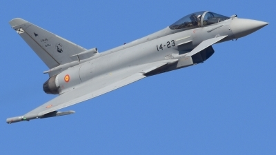 Photo ID 238036 by Alberto Gonzalez. Spain Air Force Eurofighter C 16 Typhoon EF 2000S, C 16 65 10054