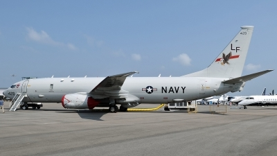 Photo ID 237990 by Aldo Bidini. USA Navy Boeing P 8A Poseidon 737 800ERX, 168429