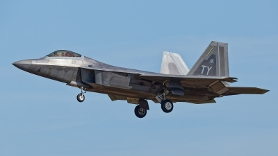 Photo ID 238143 by Rainer Mueller. USA Air Force Lockheed Martin F 22A Raptor, 04 4080