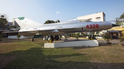 Photo ID 238302 by Thanh Ho. Vietnam Air Force Mikoyan Gurevich MiG 21PFM, 4326