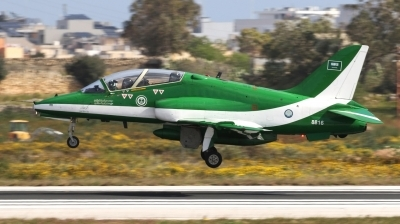 Photo ID 238344 by Duncan Portelli Malta. Saudi Arabia Air Force British Aerospace Hawk Mk 65, 8816