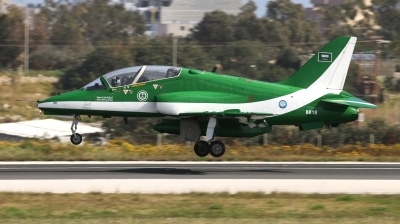 Photo ID 238367 by Duncan Portelli Malta. Saudi Arabia Air Force British Aerospace Hawk Mk 65, 8818