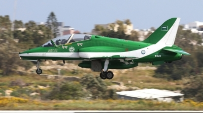 Photo ID 238368 by Duncan Portelli Malta. Saudi Arabia Air Force British Aerospace Hawk Mk 65, 8820
