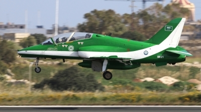 Photo ID 238360 by Duncan Portelli Malta. Saudi Arabia Air Force BAE Systems Hawk 65, 8821