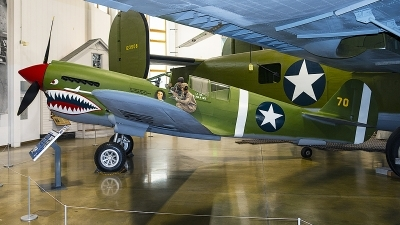 Photo ID 240344 by Aaron C. Rhodes. USA Army Air Force Curtiss P 40E Warhawk, 42 105270