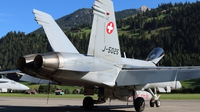 Photo ID 238468 by Ludwig Isch. Switzerland Air Force McDonnell Douglas F A 18C Hornet, J 5025