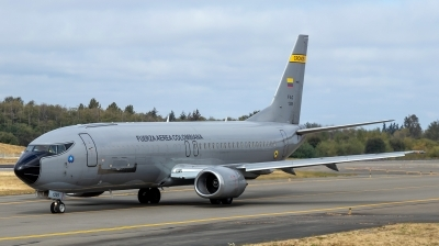 Photo ID 238481 by Alex Jossi. Colombia Air Force Boeing C 40 B737 46BF, FAC1209