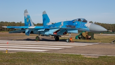 Photo ID 238497 by Jan Eenling. Ukraine Air Force Sukhoi Su 27S, 39 BLUE