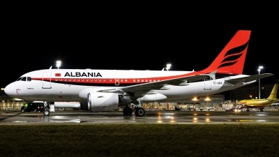 Photo ID 238489 by Thomas Ziegler - Aviation-Media. Albania Government Airbus A319 115CJ, TC ANA