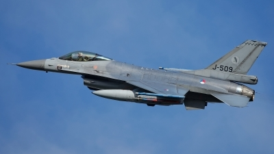 Photo ID 238565 by Rainer Mueller. Netherlands Air Force General Dynamics F 16AM Fighting Falcon, J 509