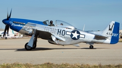 Photo ID 238665 by Aldo Bidini. Private Private North American P 51D Mustang, F AZXS