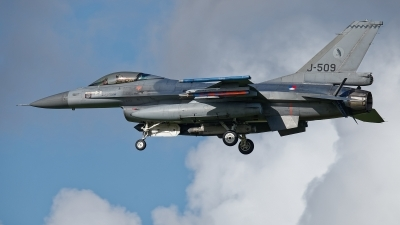 Photo ID 238669 by Rainer Mueller. Netherlands Air Force General Dynamics F 16AM Fighting Falcon, J 509