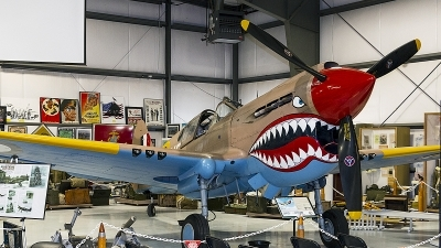 Photo ID 238692 by Aaron C. Rhodes. Private Private Curtiss Kittyhawk IA P 40E, NX94466