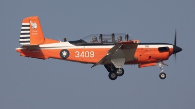 Photo ID 238736 by Frank Noort. Taiwan Air Force Beech T 34C Turbo Mentor 45, 3409