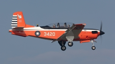 Photo ID 238739 by Frank Noort. Taiwan Air Force Beech T 34C Turbo Mentor 45, 3420