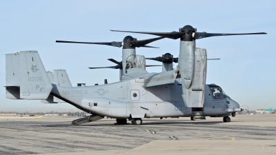 Photo ID 240340 by Gerald Howard. USA Marines Bell Boeing MV 22B Osprey, 168008
