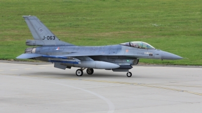 Photo ID 238777 by Milos Ruza. Netherlands Air Force General Dynamics F 16A Fighting Falcon, J 063