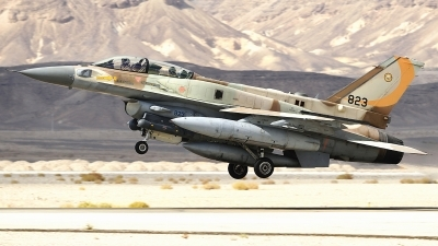 Photo ID 238824 by Nicholas Carmassi. Israel Air Force Lockheed Martin F 16I Sufa, 823