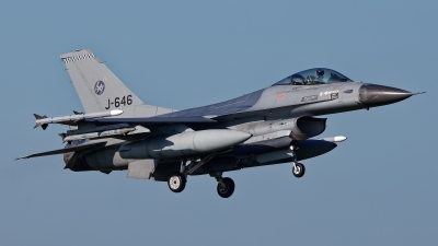 Photo ID 238904 by Rainer Mueller. Netherlands Air Force General Dynamics F 16AM Fighting Falcon, J 646