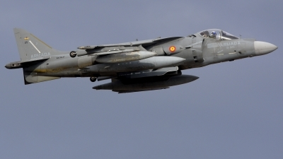 Photo ID 238856 by Alberto Gonzalez. Spain Navy McDonnell Douglas EAV 8B Harrier II, VA 1B 37