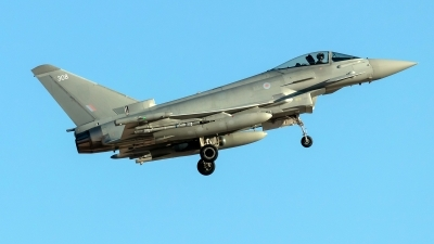 Photo ID 238860 by Alex Jossi. UK Air Force Eurofighter Typhoon FGR4, ZK308
