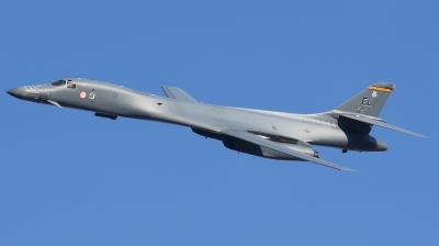 Photo ID 239284 by Hans-Werner Klein. USA Air Force Rockwell B 1B Lancer, 86 0137