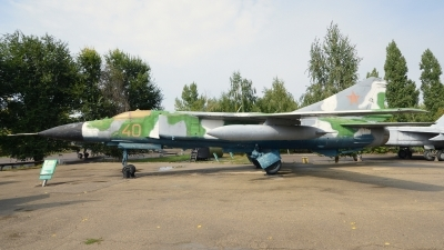 Photo ID 239286 by Günther Feniuk. Russia Air Force Mikoyan Gurevich MIG 23MLD, 40