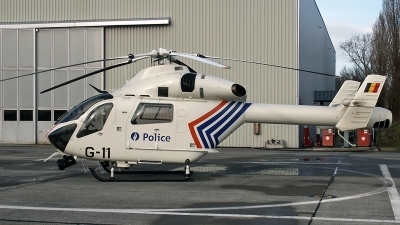 Photo ID 239332 by D. A. Geerts. Belgium Police MD Helicopters MD 900 Explorer, G 11