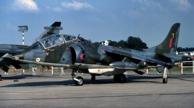 Photo ID 239320 by Alex Staruszkiewicz. UK Air Force Hawker Siddeley Harrier T 4, XZ145