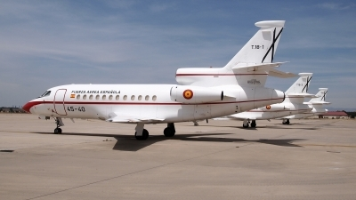 Photo ID 239376 by Montserrat Pin. Spain Air Force Dassault Falcon 900, T 18 1