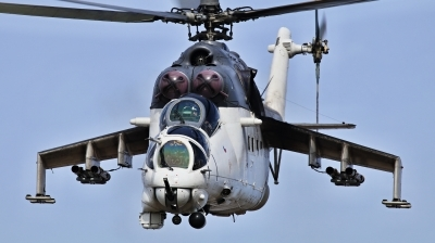 Photo ID 239399 by Milos Ruza. Czech Republic Air Force Mil Mi 24V, 3370